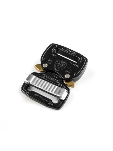 COBRA FM Blitzverschluss zum einseitigen Fädeln, 20mm, CNC 7075 Alu