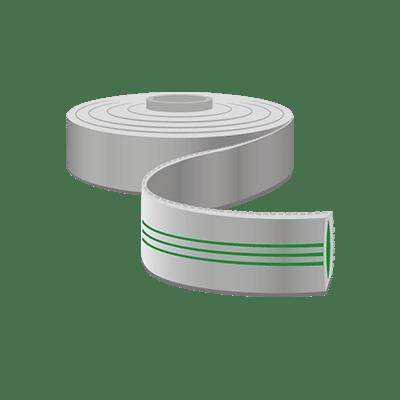 Schlauchband, 50mm Breite als Meterware