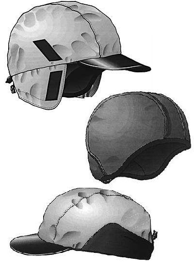 Kombinierbare Mütze Schnittmuster CE25