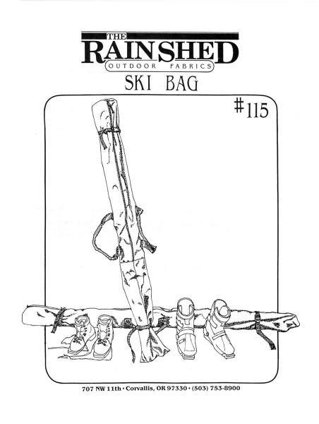 Skitasche, Schnittmuster RS 115