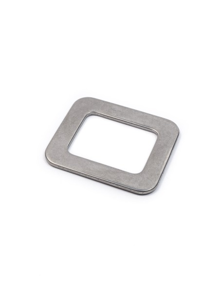 Square-Ring, 25mm, stainless steel