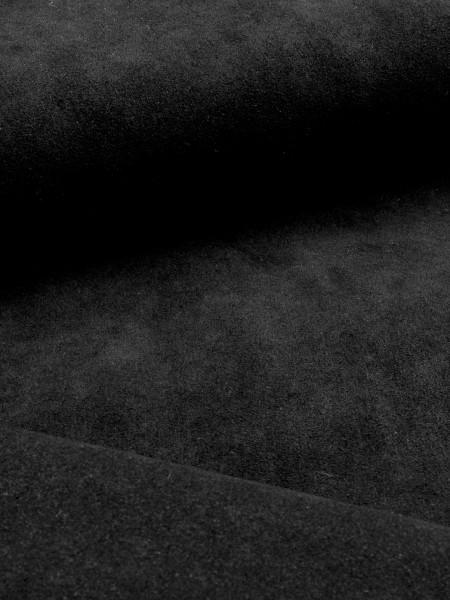 Alcantara, Velours-Kunstleder, 0,8mm, 220g/qm, schwarz