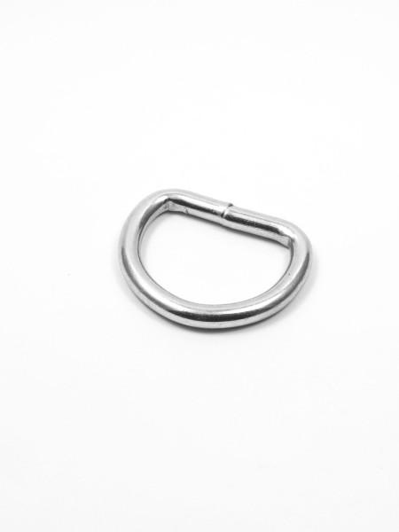 D-Ring, geschweißt, verzinkt, 25mm