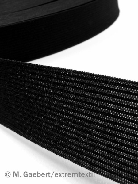 Elastic braid, 20mm, soft and thin