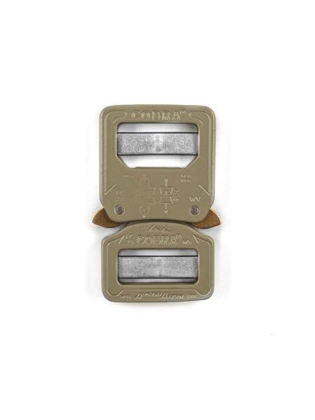 COBRA double side release buckle, 25mm, CNC 7075 aluminium