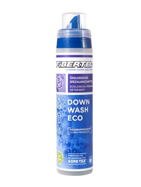Fibertec Down Wash Eco, Spezialwaschmittel für Daune, 250ml