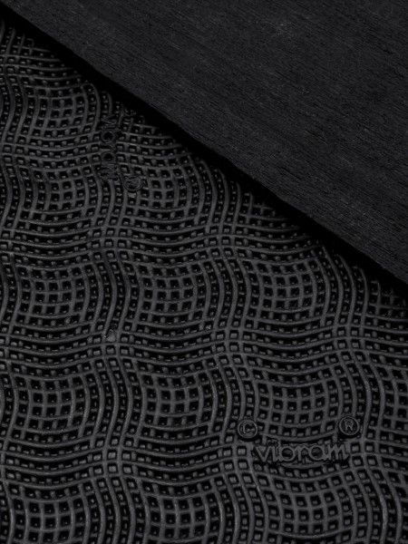 Vibram rubber sheet cherry 7175, 6mm, black