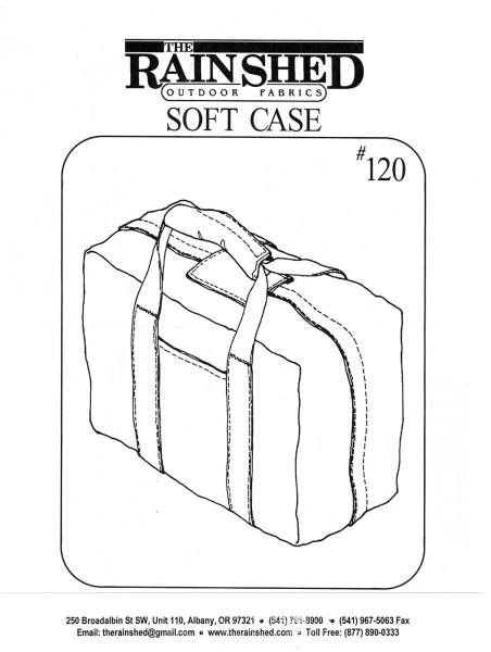 Reisetasche, Schnittmuster RS120