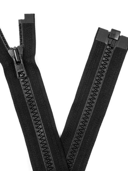 YKK 8VS Zipper with teeth, one way, open end, 80cm