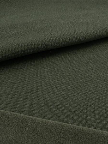 Fleece-lining, elastic, 130g/sqm