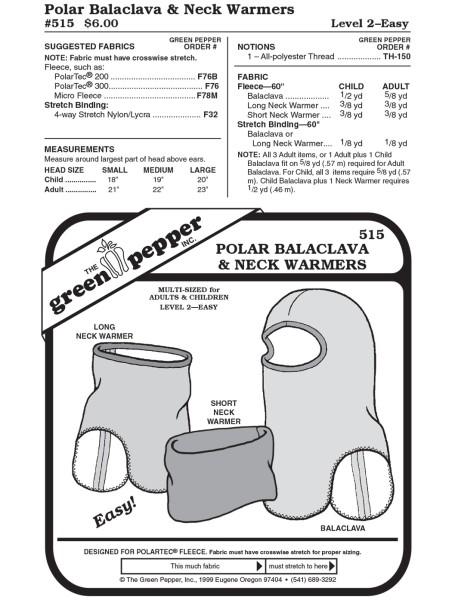 Polar balaclava, pattern GP 515
