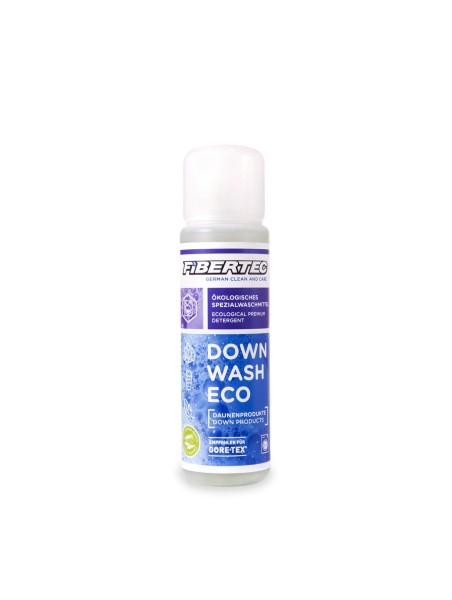 Fibertec Down Wash Eco, Spezialwaschmittel für Daune, 100ml