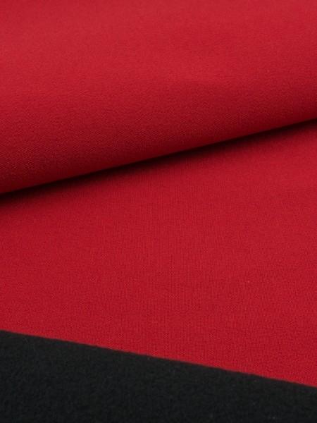 Gewebeart Laminat Softshell 04, hochatmungsaktiv, 360g/qm REST kirschrot 0,4m