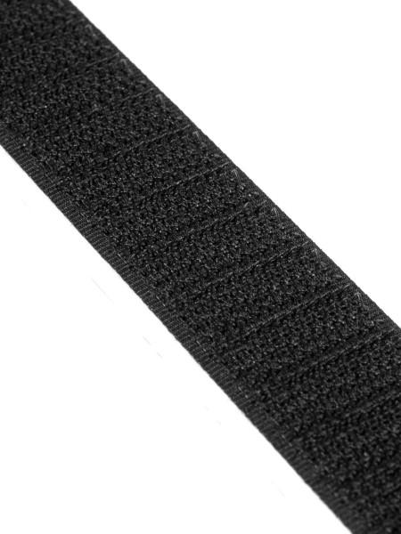 Häkchenband selbstklebend PS30, 25mm