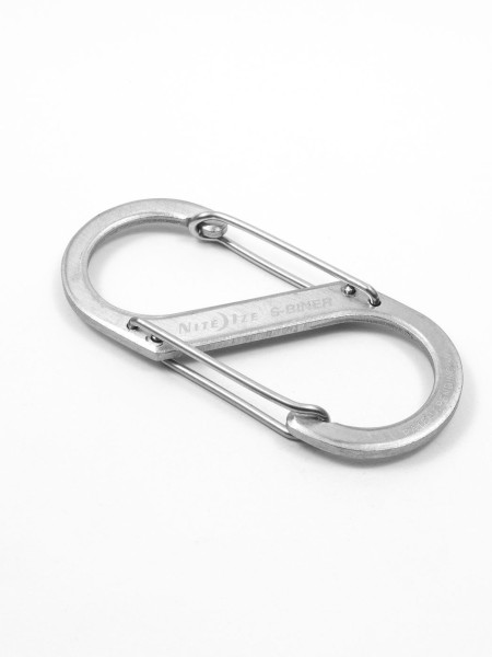 S-Biner, stainless steel, size 3, NITE IZE