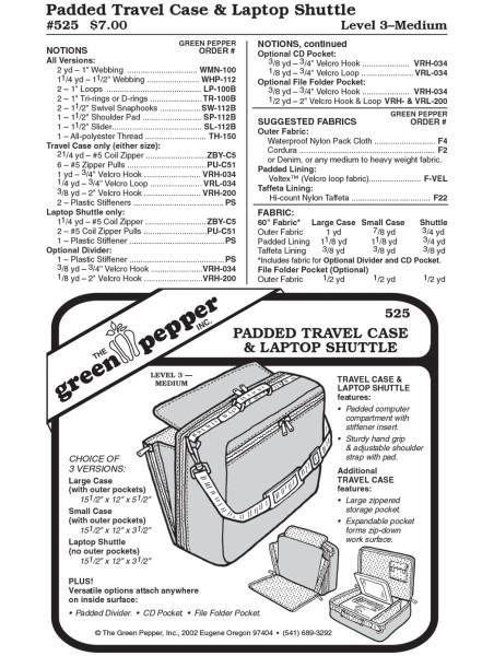 Computertasche und Reisetasche, Schnittmuster GP525