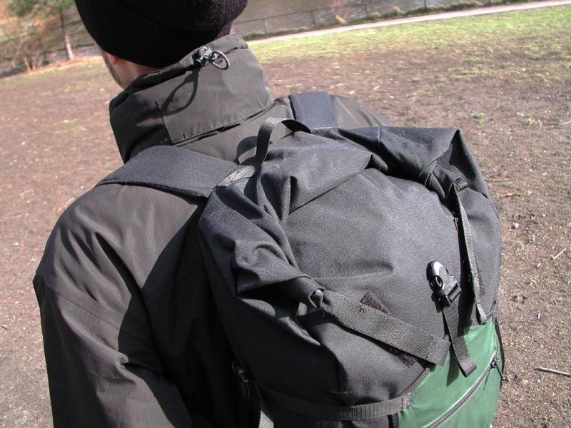 Rolltop-Rucksack