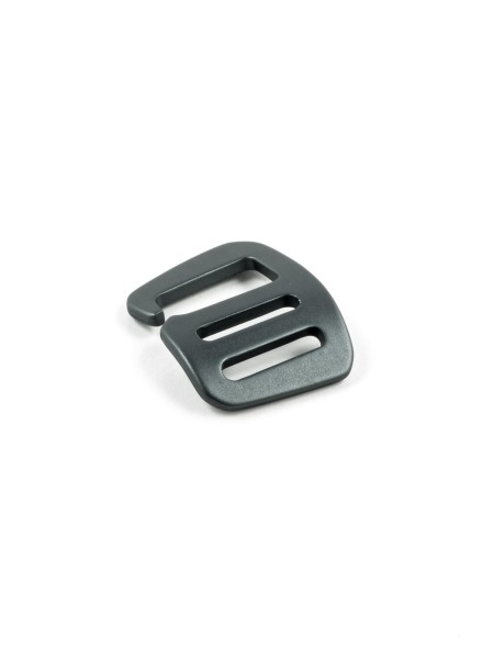 G-Buckle Gurthaken, Aluminium, Rightie, 20mm