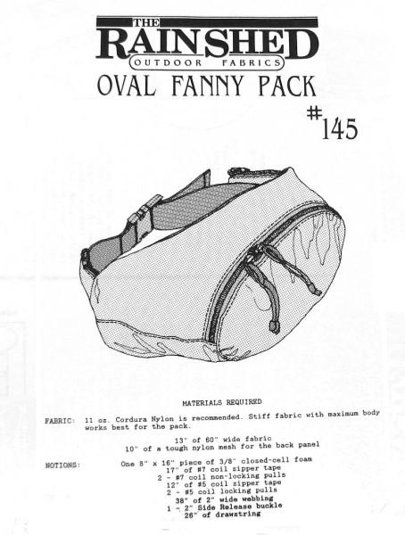 Hüfttasche/ Fanny pack, Schnittmuster RS145