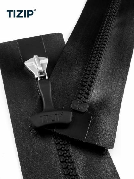 TIZIP MasterSeal 10, waterproof zipper w. teeth, both ends closed, 80cm