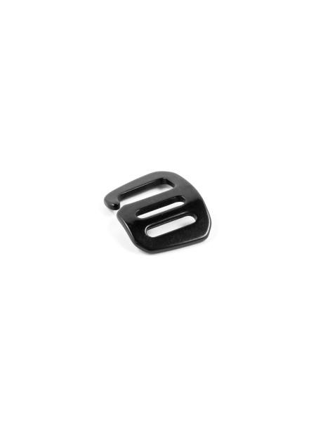 G-Buckle Gurthaken, Aluminium, Rightie, 15mm