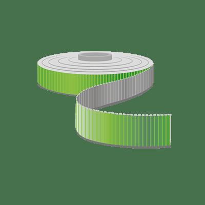 Ripsband, Bis 20mm Breite als Meterware