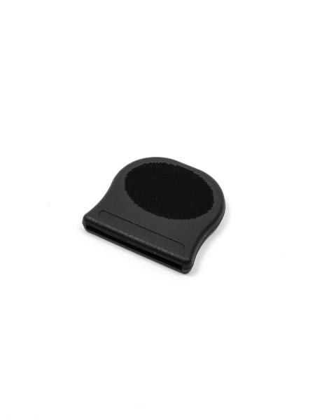 Webbing terminal, elastomer, Oval, 25mm
