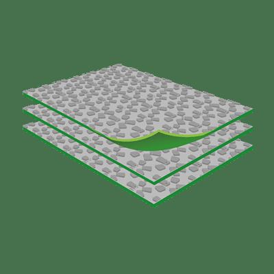 Sohlenplatten, als Plattenware