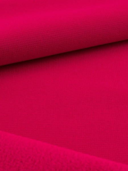Stretch-Fleece, Jersey-surface, 100% recycled Polyester, 250g/sqm