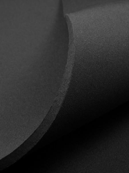 Gewebeart Jersey Neopren, beidseitig kaschiert, 5mm, schwarz/schwarz