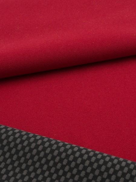 Gewebeart Laminat Softshell GTX, PTFE-Membran, zweifarbiges Waben-Futter, 260g/qm