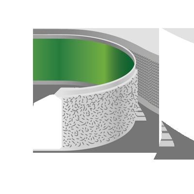 Adhesive Velcro Hook and Loop Tape, 20mm Width