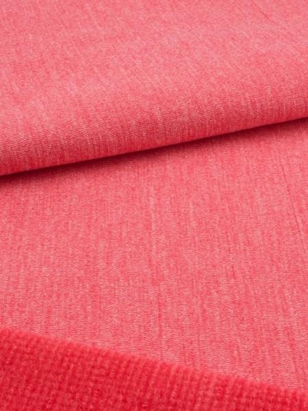 Gewebeart Fleece Stretch-Fleece mit Merino, dünn, 215g/qm