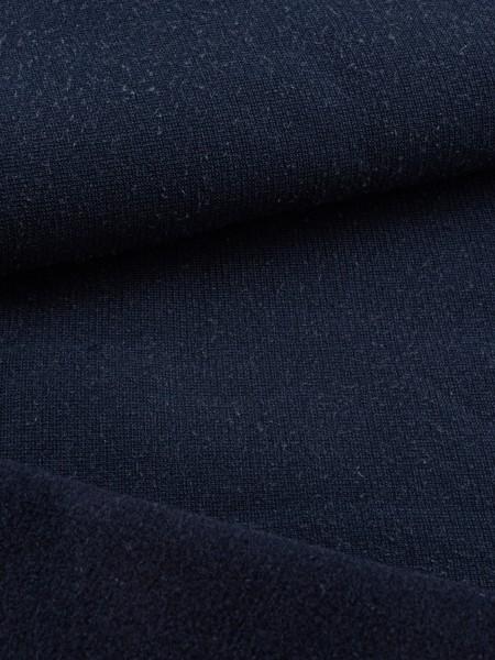 Stretch-Fleece with Tencel, soft, velour-backing, 290g/sqm, Pontetorto, 2nd choice