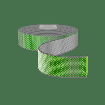 Gurtband, 25mm Breite als Meterware