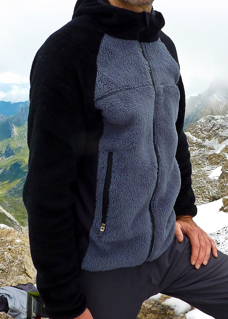 Fleecejacke aus Fellfleece