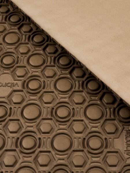 Vibram rubber sheet supernewflex 8868, 4mm, greyish beige