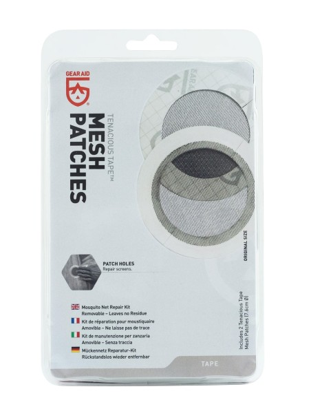 Gear Aid Tenacious Tape Mesh Patches - 2 patches