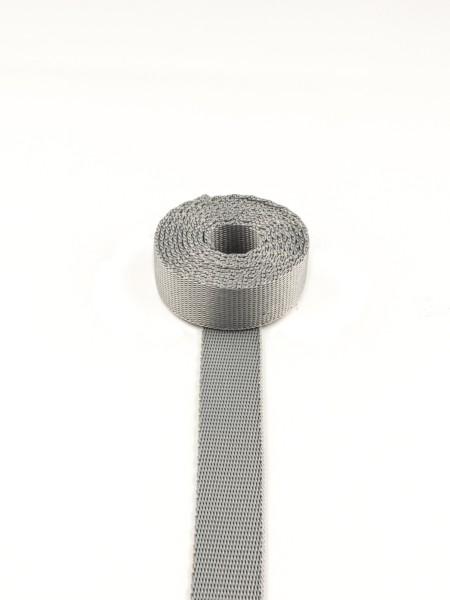 Gurtband (Polyamid), glatt, 15mm, SONDERPREIS