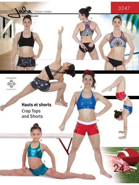 Sport-BH und Shorts J3247