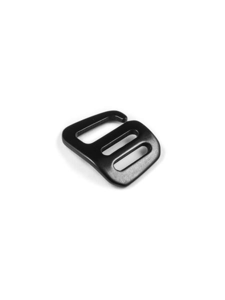 G-Buckle Gurthaken, Aluminium, Leftie, 15mm