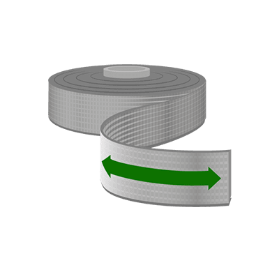 Elastische Bänder, 25mm Breite als Meterware