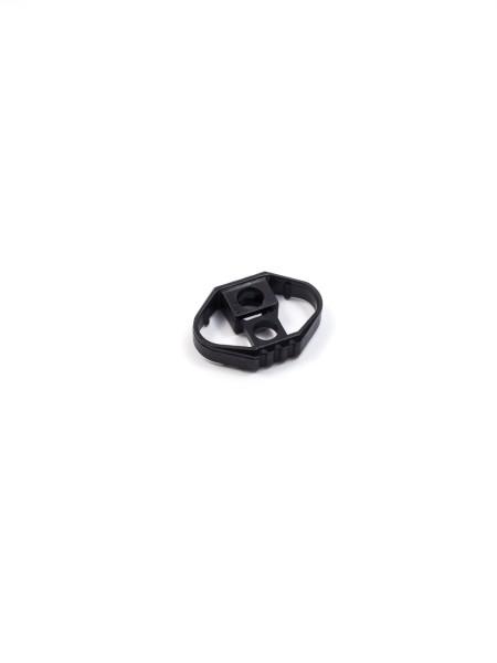 Cord Lock, oval, plastic, small