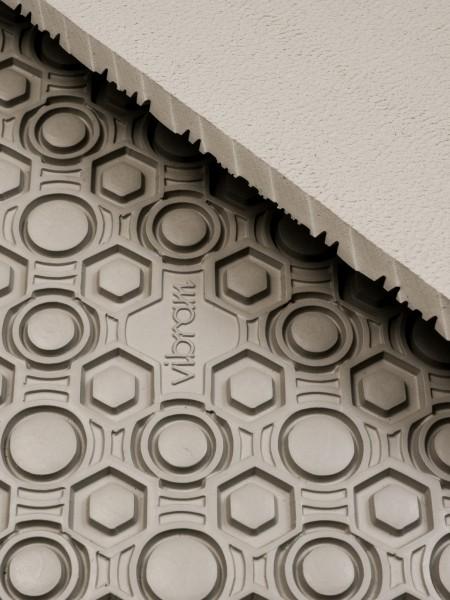 Vibram rubber sheet supernewflex 8868, 4mm, cream white