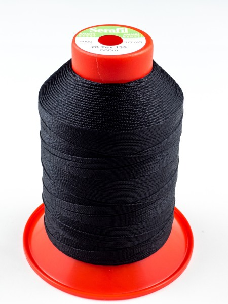 Serafil 20, Polyester continuous filament yarn, 600m