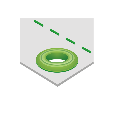 Eyelets, 14mm Diameter