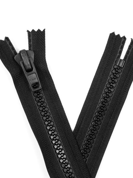 YKK 10VF Zipper with teeth, one way, closed end, 65cm