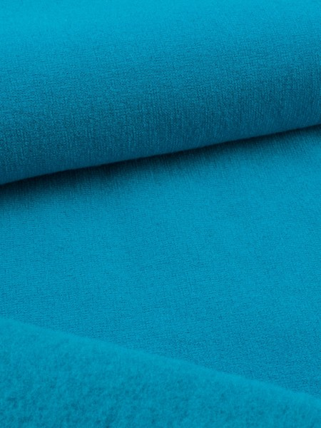 P-Stretch fleece with wool, smooth outside, 230g/qm [MM]