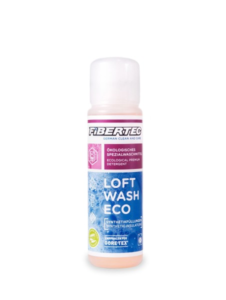 Fibertec Loft Wash Eco, detergent for synthetic insulation, 100ml