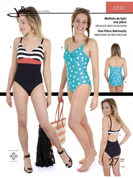 Badeanzug für Mädchen und Frauen J3350